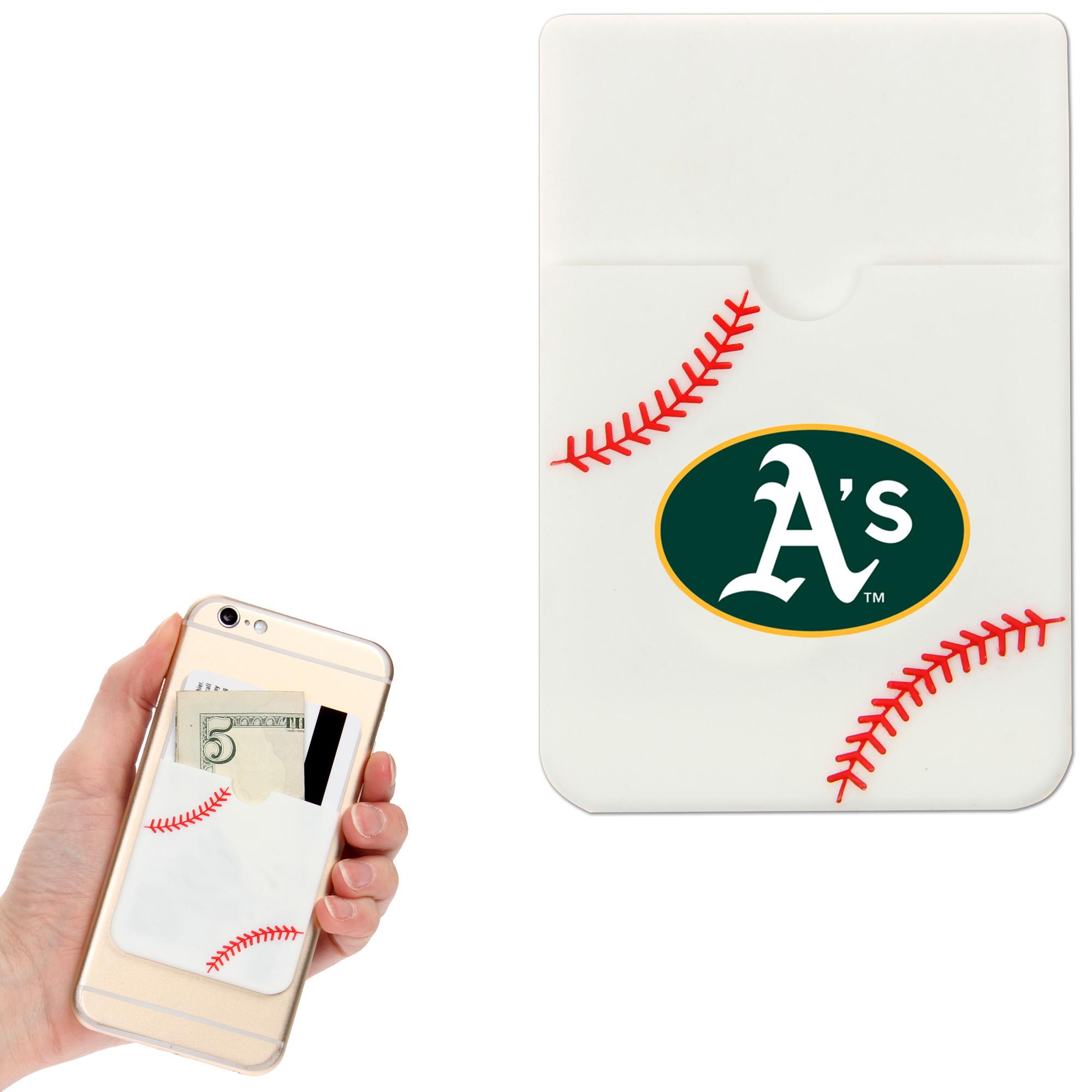 Oakland Athletics Baseball Sticker Wallet - White - No Size