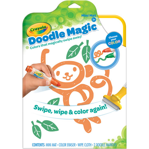 Crayola Doodle Magic Mini Mat Walmart Com