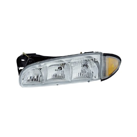 Pontiac Bonneville Headlight Lh Driver - Replacement TYC 20-5416-09 Driver Side Headlight For 88-99 Pontiac Bonneville