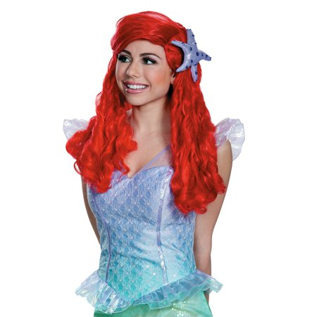 Little Mermaid Wig (Adult Ariel Wig Little Mermaid)