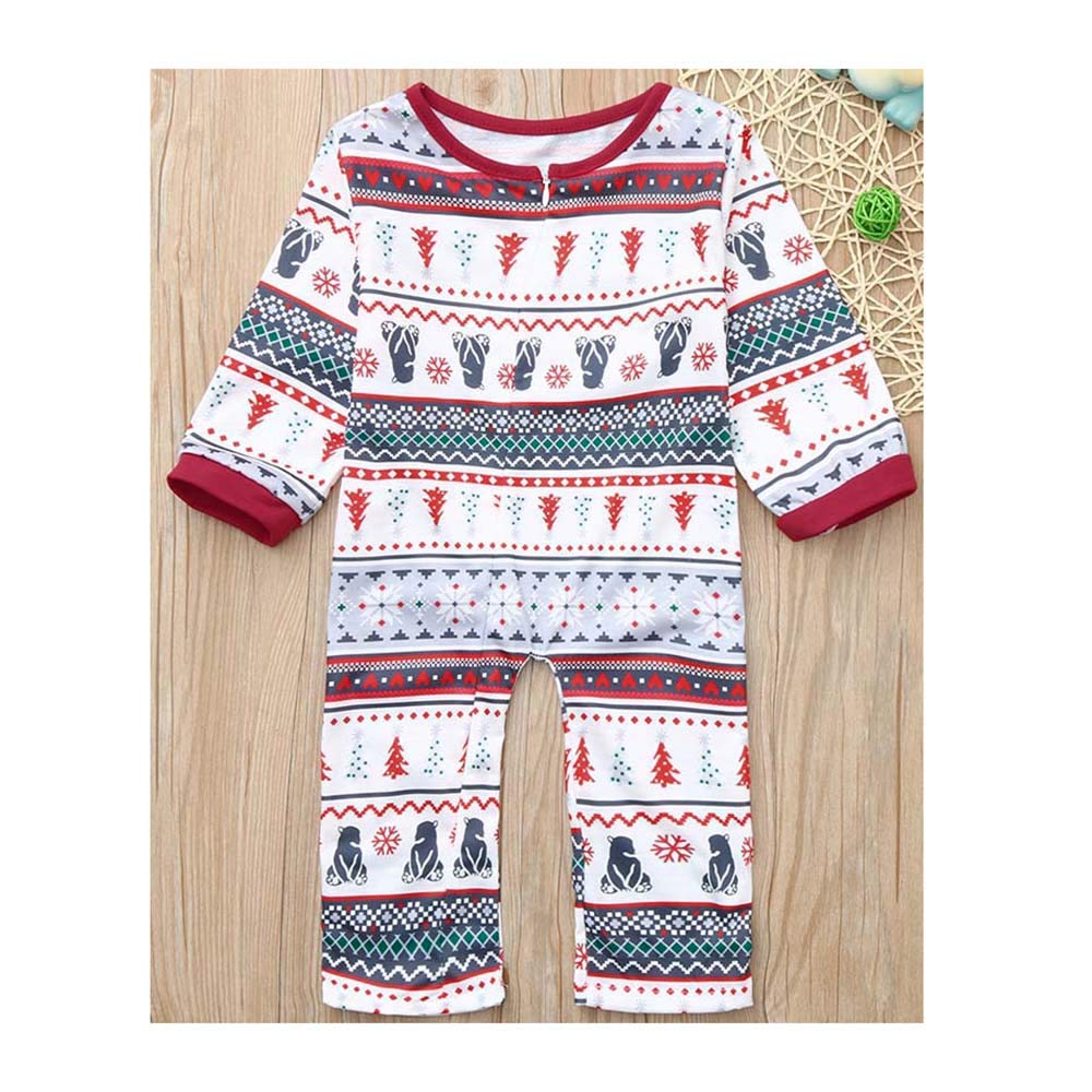 Christmas Pajamas Family Matching Pajama Set Men/Women ...