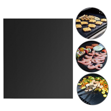 16 x 13 Inch BBQ Grill Mat Set Non-stick Barbecue Utensil Gas Charcoal Cooking
