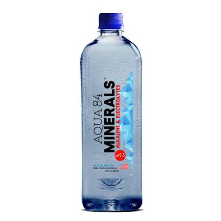 Aqua 84 Minerals Alkaline Water 16.9 oz