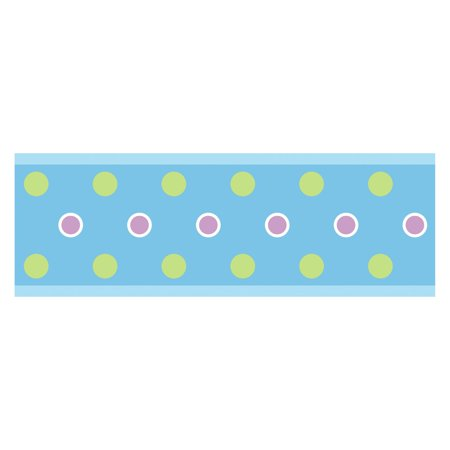 Peel And Stick Polka Dots (Dot Peel and Stick Border)