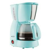 Brentwood Appliances 4 Cup 650 Watt Coffee Maker in Blue