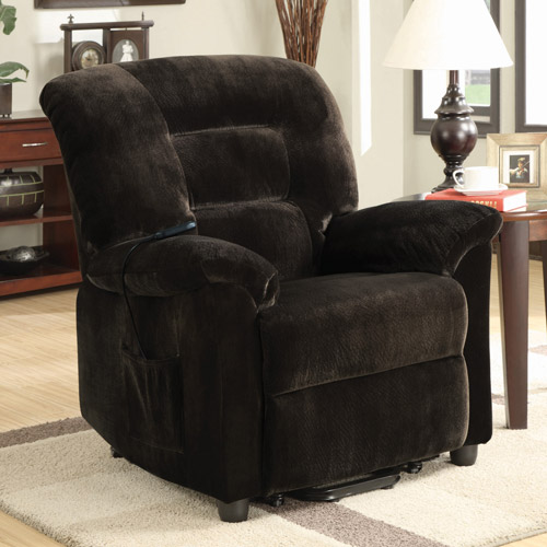Power Lift Recliner, Chocolate
