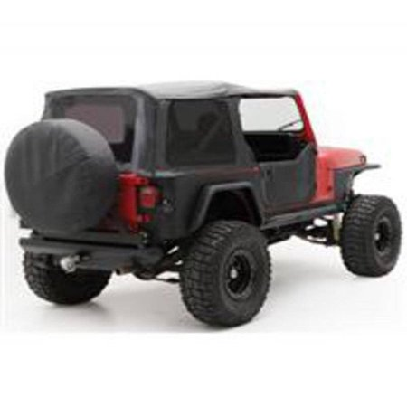 Smittybilt 1987-1995 Jeep Wrangler YJ Soft Top OEM Replacement With Tinted Windows Denim Black