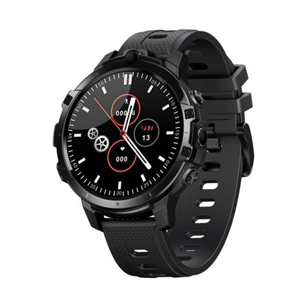Zeblaze THOR 6 4G Smart Watch 1.6-inch IPS Touch-Screen Octa Core Processor Dual Cameras Fitness Activity Tracker Heart Rate Monitor Pedometer 4G LTE Smartwatch for Android iOS