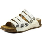 Haflinger Payton   Open Toe Leather  Platform Sandal