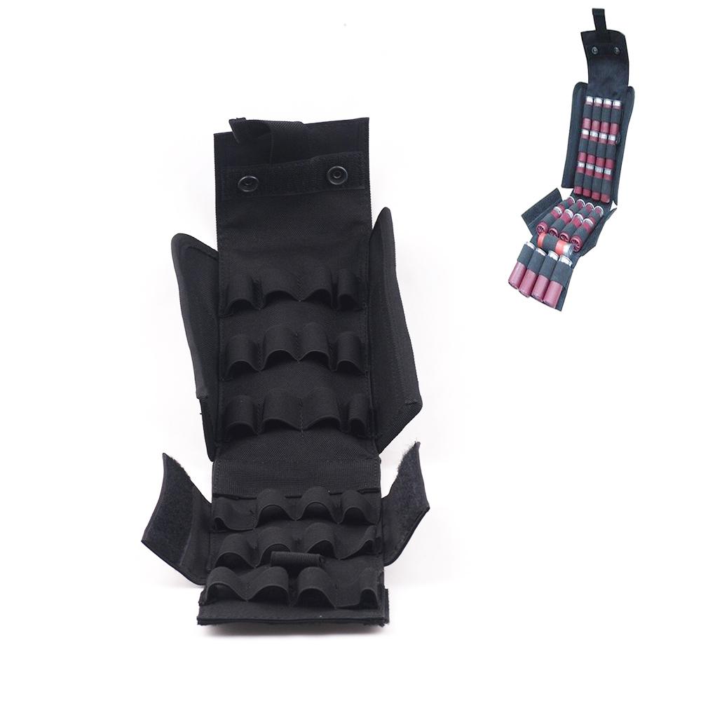Black Molle 25 Round 12 Gauge Shells Shotgun Reload Magazine Pouch MA61 by
