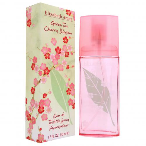 Green Tea Cherry Blossom By Elizabeth Arden Eau De Toilette 1.7 oz / 50 ML Spray