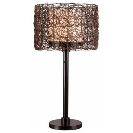 Image of Tanglewood Outdoor Table Lamp, Bronze
