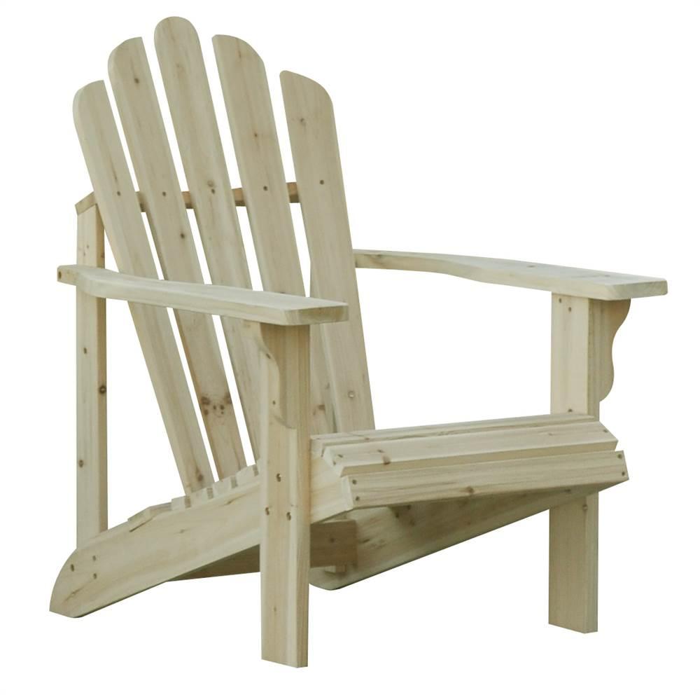 Westport Adirondack Chair Natural by Shine Company