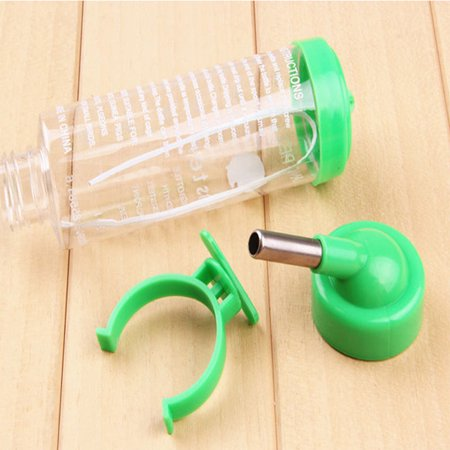 9e57f3fd659a Hanging Water Bottle, Dispenser Feeder, No Drip, Leak Proof Water Kettle, 2  Size for Choice, Fit for Hamster, Guinea Pig, Rabbit, Dog