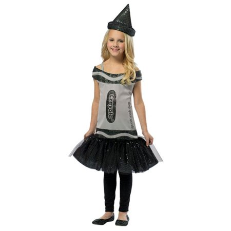 Girls Space Costumes (Child Crayola� Deep Space Sparkle� Glitz & Glitter Dress by Rasta Imposta)