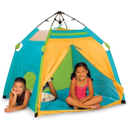 "Pacific Play Tents Kids One Touch Pop Up Beach Sun Cover Tent 48"" x 48"""