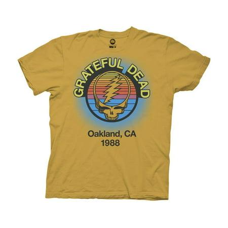 Ripple Junction Grateful Dead Adult Unisex Oakland 88 Crew (Malls Near Oakland)