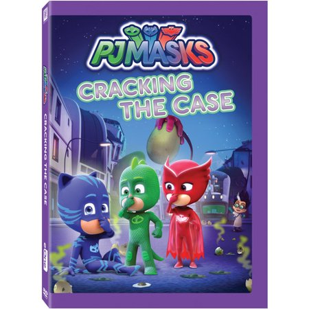 Pj Masks: Cracking The Case (DVD)