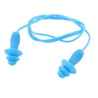 Blue Silicone Water Sports Swim Sleep Hearing Protection Earplug Ear Plug