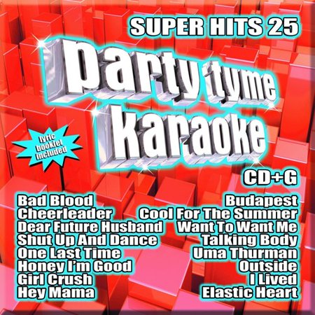 Various Artists - Party Tyme Karaoke: Super Hits 25 - CD