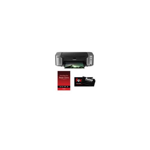 Canon PIXMA PRO-100 4800 x 2400 dpi Color Professional Inkjet Photo Printer + Canon Photo Paper Plus... by Canon