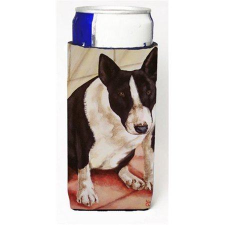 Bull Terrier English Bully Michelob Ultra Can coolers for Slim