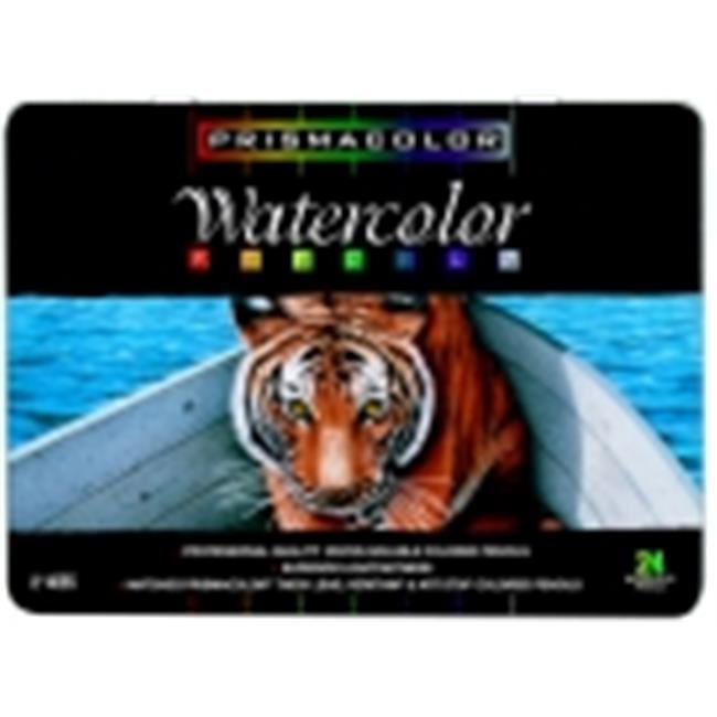 Prismacolor Premier Non-Toxic Water Soluble Watercolor Pencil Set- Set 24