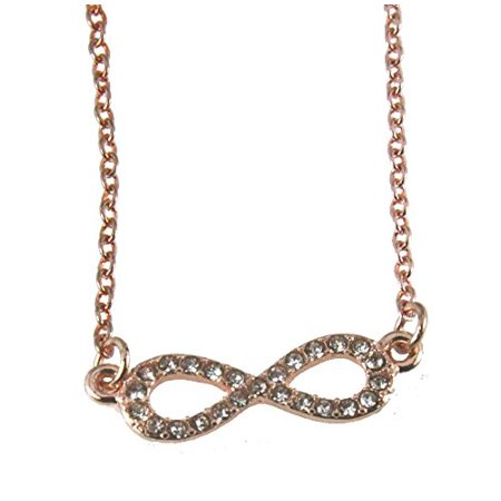 Eternity Necklace Infinity Sign Symbol Bling Jewelry Walmart