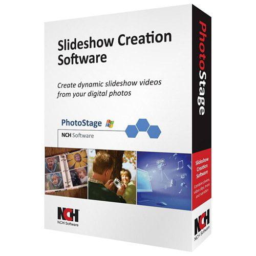 Nch Software RET-PSW001 Photostage Slideshow Creator Crom Crop Rotate Pan Zoom Burn Slideshow