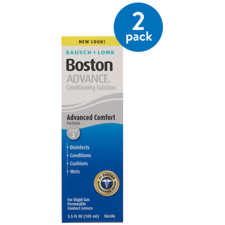 (2 Pack) Bausch & Lomb Bausch & Lomb Boston Advance Conditioning Solution, 3.5 oz (Bausch Lomb Kontaktlinsen)