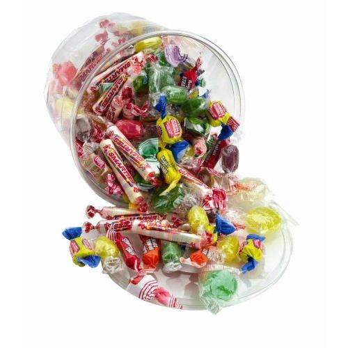 Office Snax Variety Tub Candy - Assorted - Resealable Container, Individually Wrapped - 2 Lb - 1 Each (OFX00002)