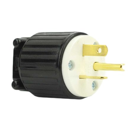 Superior Electric YGA021 Plug 3 Wire, 20 Amps, 125V, NEMA