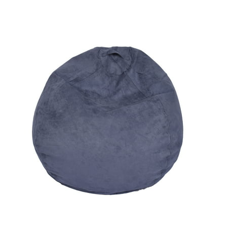 ACEssentials Large Microsuede Kids Bean Bag, Available in Multiple Colors Duke Bean Bag