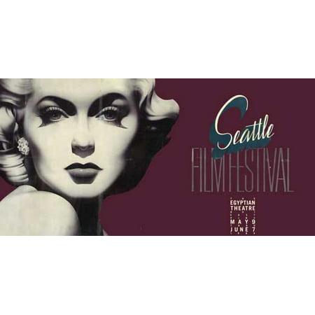 Seattle Film Festival POSTER Movie (20x39) - Meteor Seattle Halloween