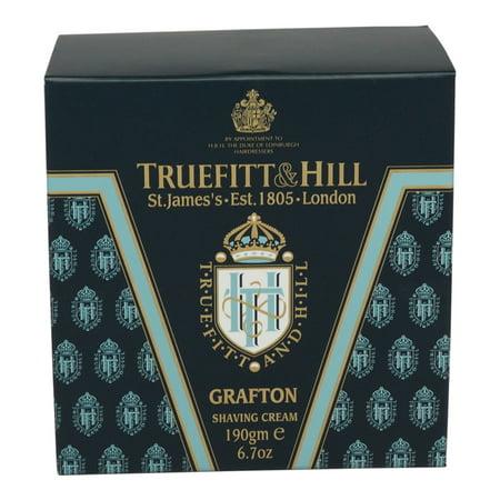 Truefitt & Hill Grafton Shaving Cream 6.7 oz. (Truefitt And Hill Ultimate Comfort Pre Shave Oil)