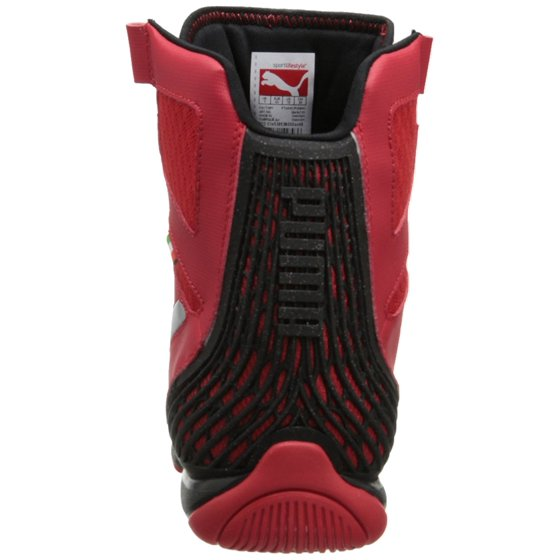 Puma - Puma Men s Ferrari Valorosso Mid Webcage Rosso Corsa   Black High-Top  Fashion Sneaker - 10M - Walmart.com 6783e5a31