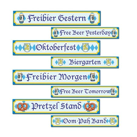 Oktoberfest Sign Cutouts, Oktoberfest Sign Cutouts 4