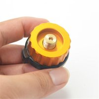 Outdoor Camping Hiking Stove Burner Adapter Gas Tank Connector Clip Type Auto-lock Adapter Converter