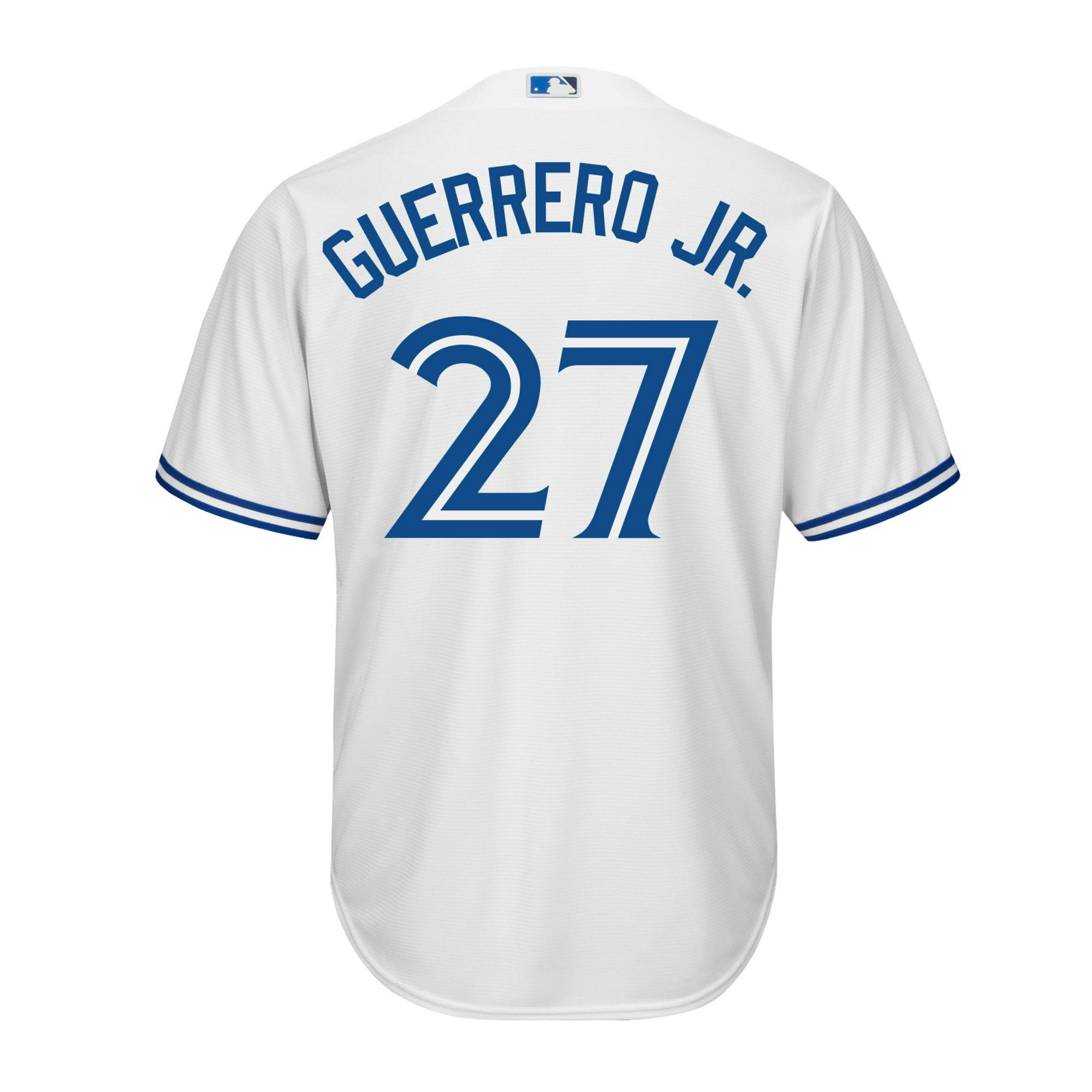 377526553 Men s Vladimir Guerrero Jr. Toronto Blue Jays MLB Cool Base Replica Home  Jersey