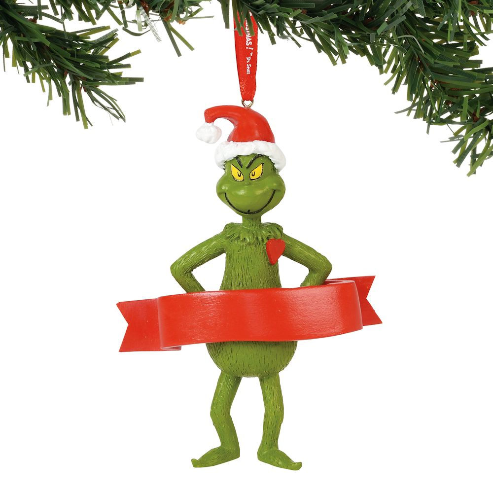 Dept 56 2018 Dr Seuss Seuss Trio Ornament #6000315 NEW FREE SHIPPING 48 STATES