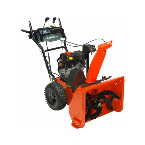 Ariens 920027 Compact Sno-Thro 2-Stage Snow Blower, Self-Propelled, 223cc Engine, 24-In. Quantity 1 by ARIENS COMPANY
