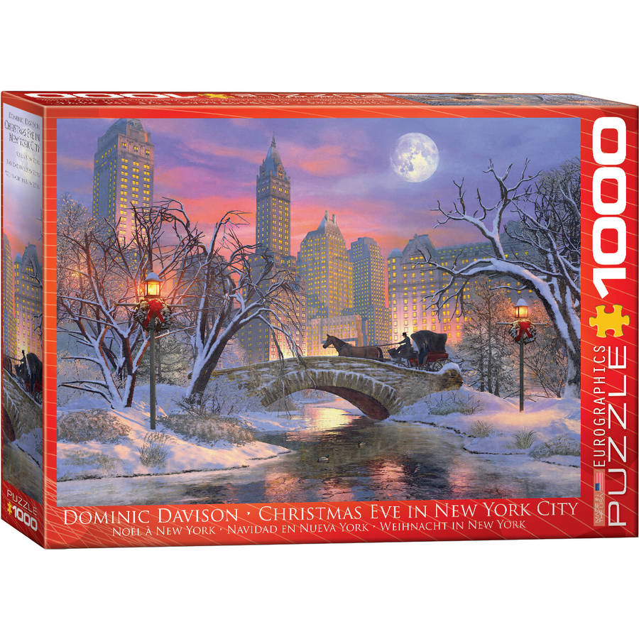 Christmas Eve in New York City 1000-Piece Puzzle by EuroGraphics
