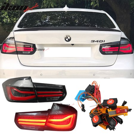 Remarkable Fits 12 15 Bmw 3 Series F30 Rear Tail Lights With Wire Coding Wiring Digital Resources Zidurslowmaporg