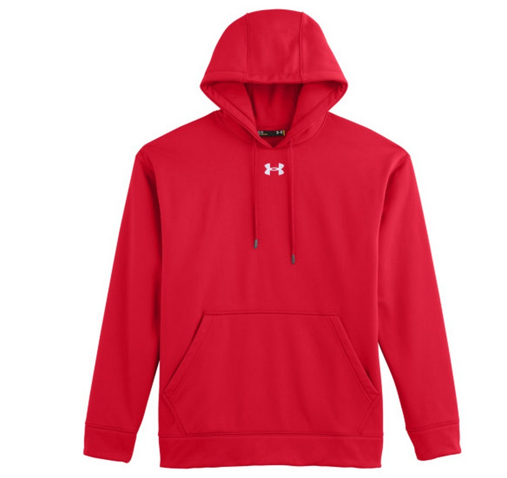 Under Armour Men's Fleece Team Hoodie, Moisture Wicking 1237619