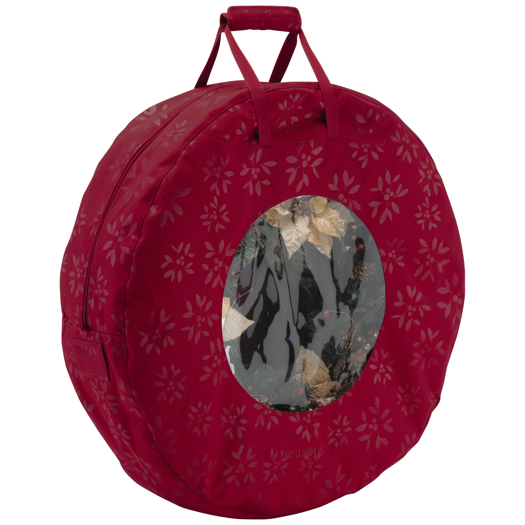Classic Accessories Seasons Wreath Storage Bag - Heavy-Duty Holiday Storage, Large