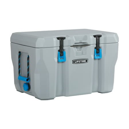 Lifetime 55 Quart High Performance Cooler, Grey for $<!---->