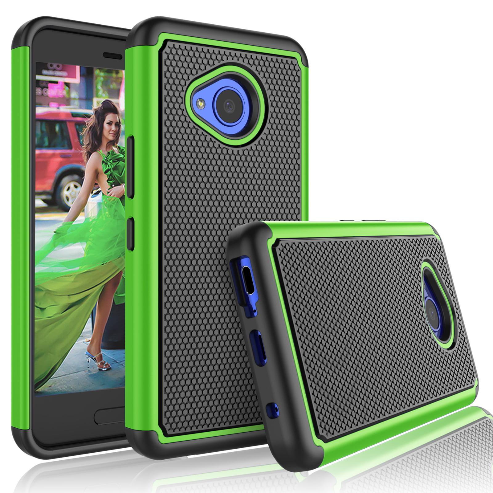 timeless design edca8 99c14 HTC U11 Life Case, HTC U 11 Life Case For Girls, Tekcoo [Tmajor] Shock  Absorbing [Hot Pink] Rubber Plastic Scratch Resistant Cute Rugged Sturdy  Bumper ...