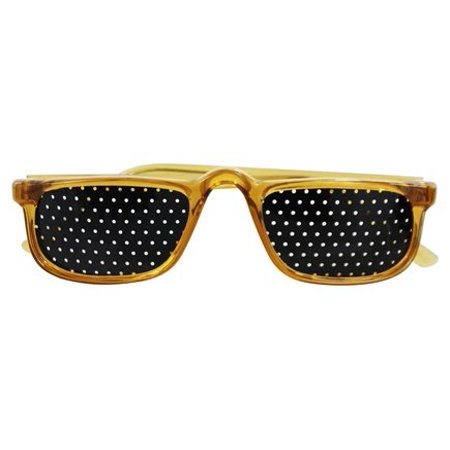 Natural Eyes - Pinhole Glasses 1/2 Frame (Half Frame Cat Eye Glasses)