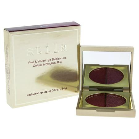 Vivid and Vibrant Eye Shadow Duo - Garnet by Stila for Women - 0.09 oz Eye Shadow - Garnet Hill For Kids