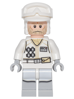 Star Wars LEGO x 10 White Minifig Backpack Non-Opening NEW Hoth Rebel